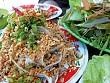 Gỏi cá trích món ngon hấp dẫn đảo Lý Sơn