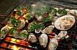 Hương vị hải sản nướng trên biển Đảo Lý Sơn