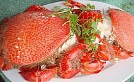 Cua Huỳnh Đế, Gỏi Tỏi, Ốc xà Cừ, cá tà Ma Đặc sản nổi tiếng - Đảo Lý Sơn
