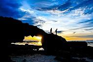 Đêm muộn trên biển đảo Lý Sơn