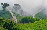 Du ngoạn mây trời trên đèo Violắc Quảng Ngãi