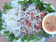 Gỏi cá tràu đặc sản đảo Lý Sơn