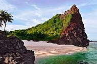 Khám phá dung nhan núi lửa dạng cổ ở Lý Sơn