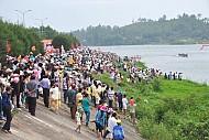 Lễ hoàn nguyện bên bờ sông Trà Bồng