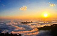 Mê mẩn ngắm bình minh tuyệt đẹp trên đảo Lý Sơn