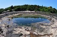 Những miệng núi lửa cổ ở vùng biển Quảng Ngãi