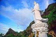 Tượng Bồ Tát Quan Thế Âm cao nhất Lý Sơn