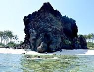 Vết tích núi lửa hàng triệu năm trên đảo Lý Sơn