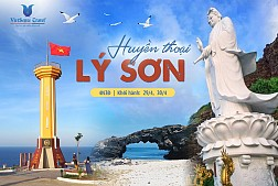 Tour Du Lịch Lý Sơn 3 Ngày Dịp Lễ 30 Tháng 4 (VLS30)