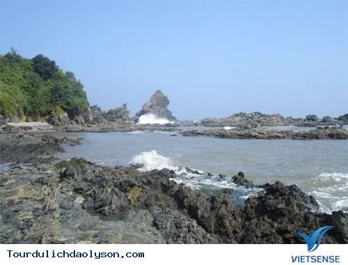 Ghềnh đá Bàn Than- Đảo Lý Sơn