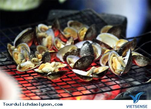 Hương vị hải sản nướng trên biển Đảo Lý Sơn - Ảnh 4