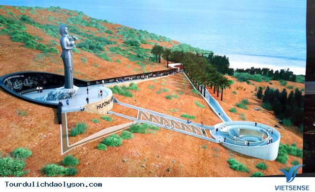 Phối cảnh 3D dự án Người mẹ thắp lửa trên đảo Lý Sơn