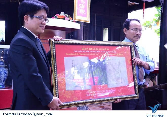 Tiếp nhận phiên bản mộc bản triều Nguyễn về đảo Lý Sơn và Hoàng Sa - Ảnh 2
